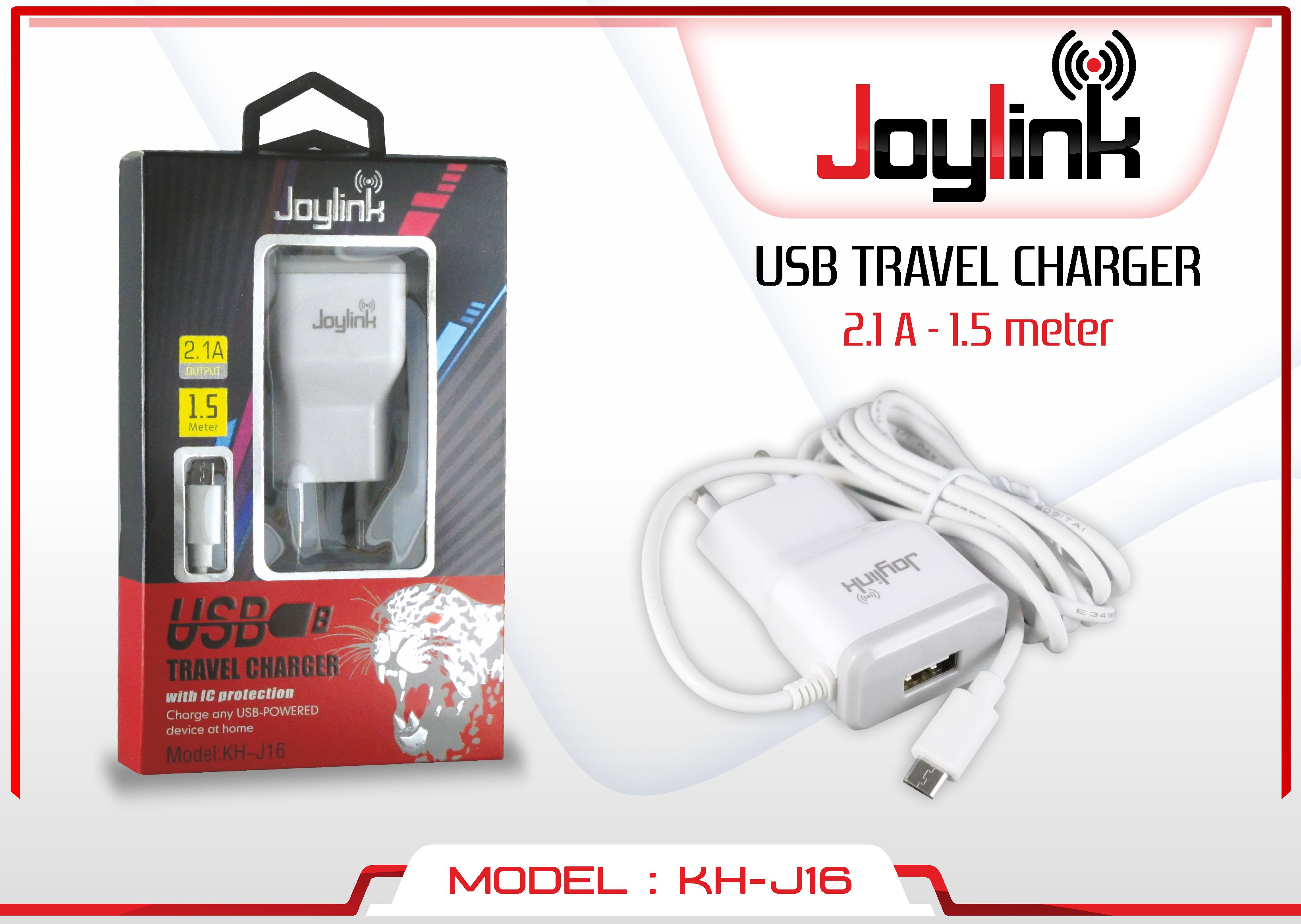 KH-J004 MABKO CHARGER 3.4A